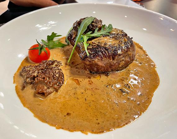 Beef Fillet at Bacchus