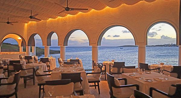 restaurant at cap juluca pimms