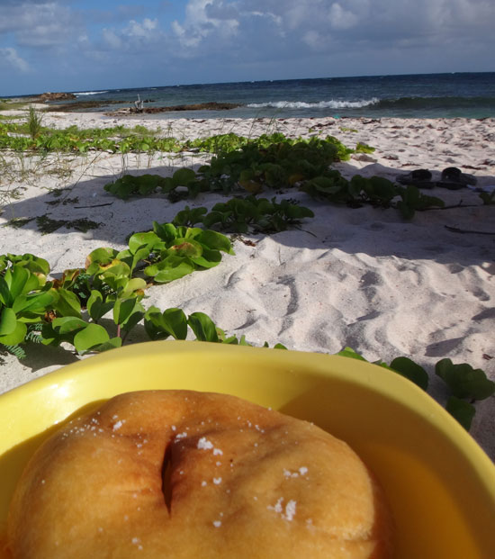 Anguilla palm grove johnny cakes
