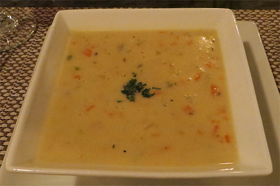 Anguilla flavours soup