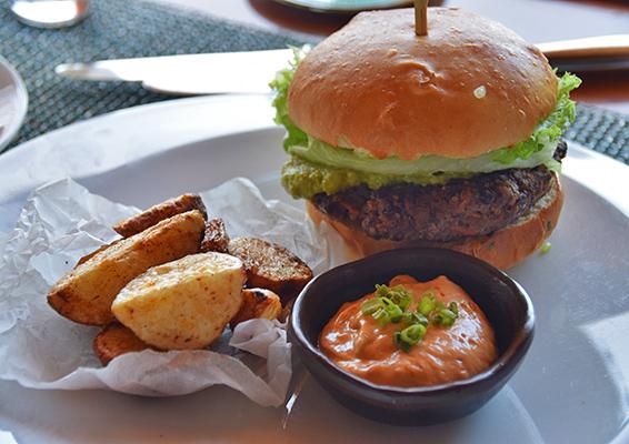 Best veggie burger on island