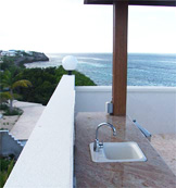 anguilla villa black pearl wet bar