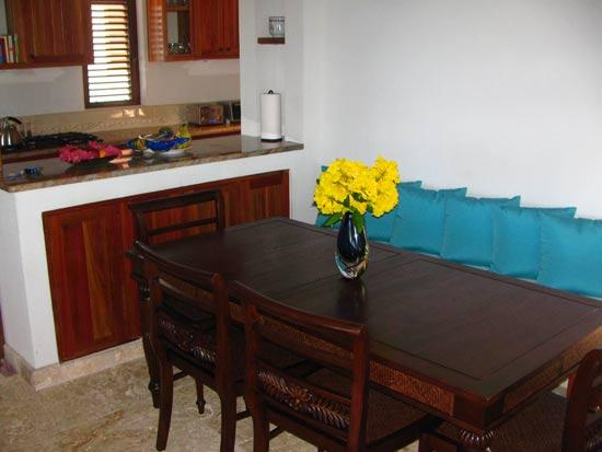 anguilla villa black pearl indoor dining