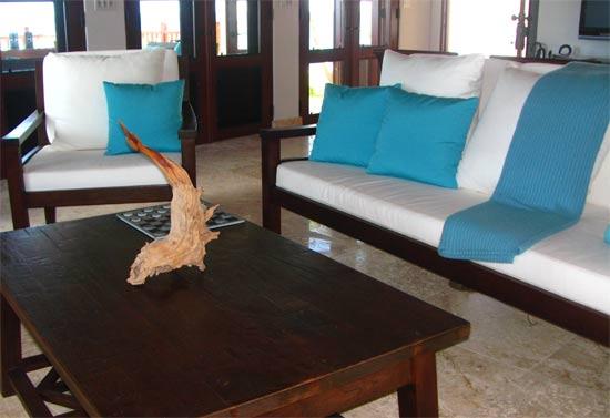 anguilla villa black pearl living