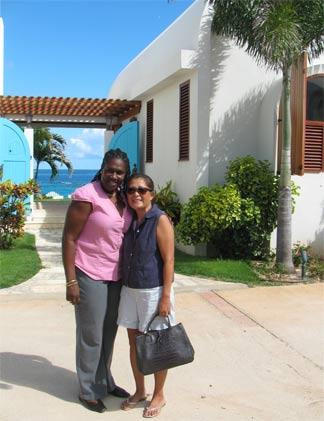 anguilla villa black pearl entrance