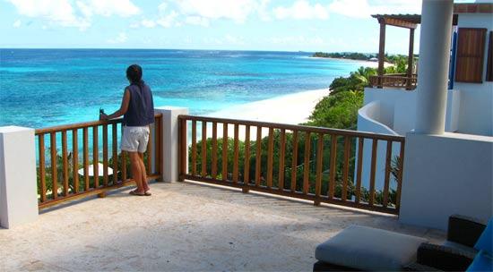 anguilla villa black pearl master bedroom