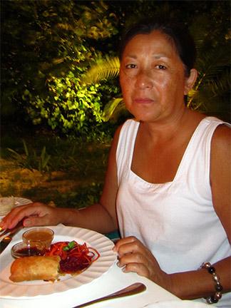 mom anguilla spring rolls blanchards restaurants