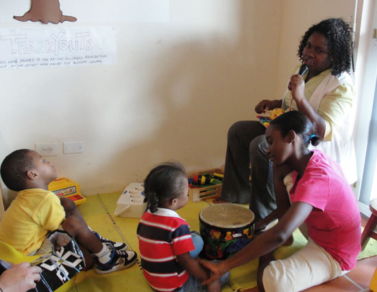 music time at blossom centre