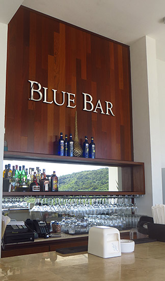 the blue bar in anguilla