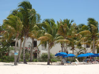 Anguilla Hotel, Blue Waters, beach view
