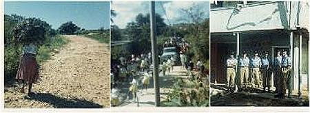 Anguilla road 1969
