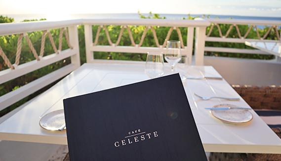cafe celeste at malliouhana