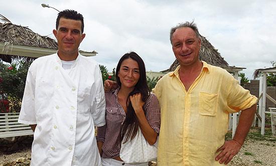 ben and dominique owners of cafe de paris