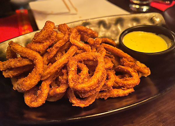 Crispy Calamari at Little Bamboo