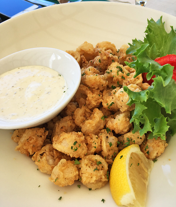 Fried calamari at Madeariman