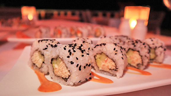 California Roll at Barrel Stay Sandy Ground