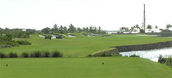 Caribbean golf course