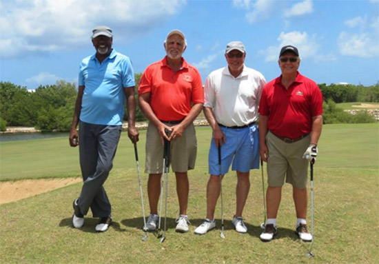 caribbean players at anguilla open 2015