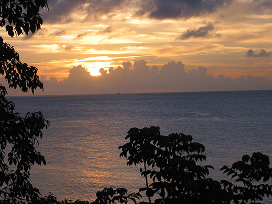 A Perfect Anguilla Sunset