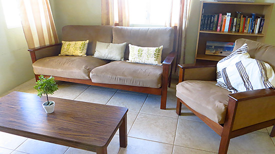 casa hughes sitting area