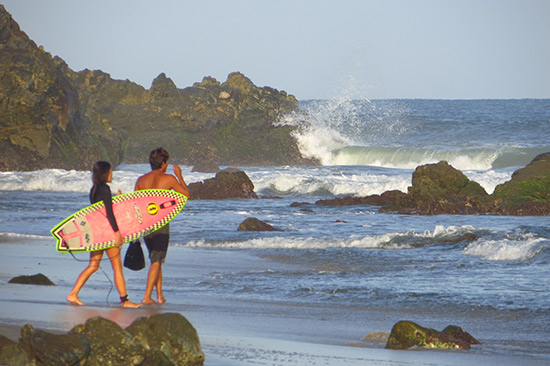 with celestino of puerto surf lessons