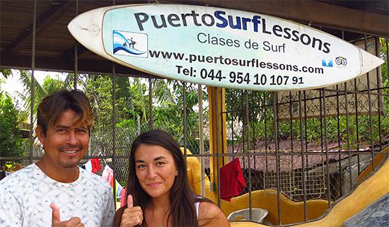 celestino rodriguez puerto surf lessons