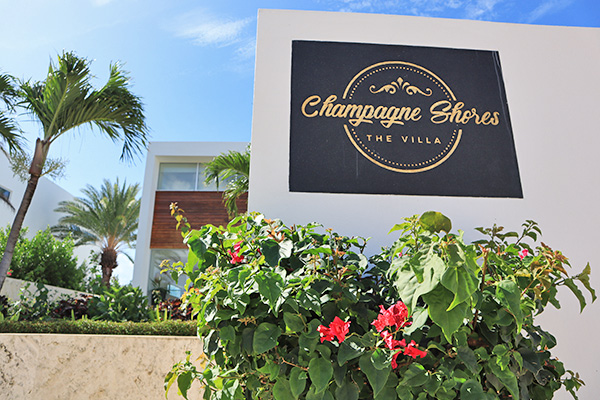 Champagne Shores The Villa enterance