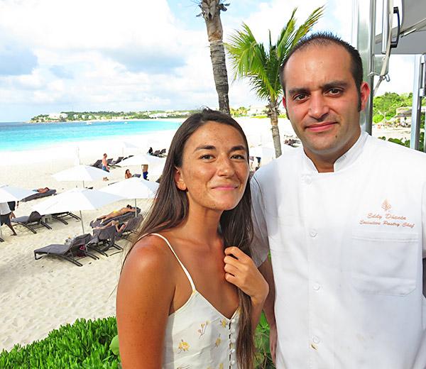 chef eddy dhenin of four seasons anguilla
