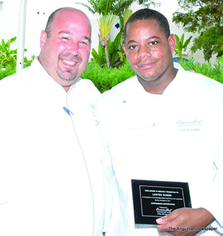 chef lester gumbs of cuisinart anguilla