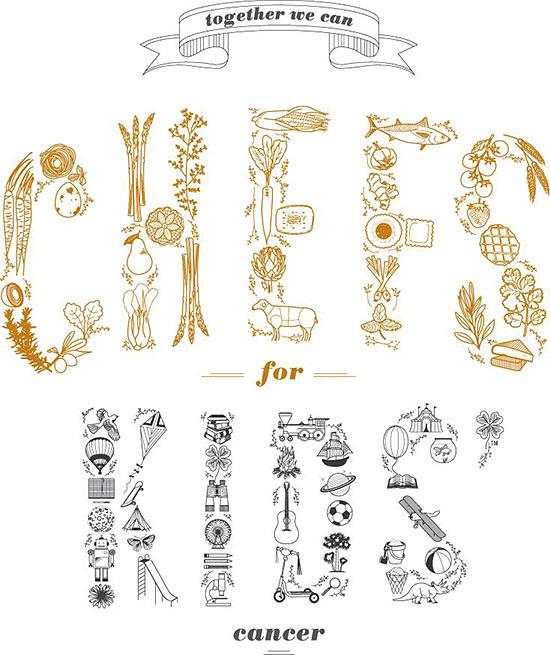 chefs for kids cancer logo