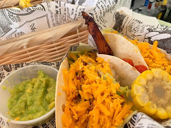 Fish tacos at Olas Tacos Bar & Grill