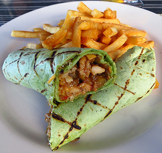 chicken wrap ocean echo