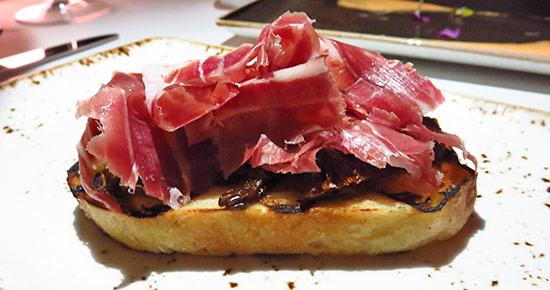 cinco jotas iberico appetizer