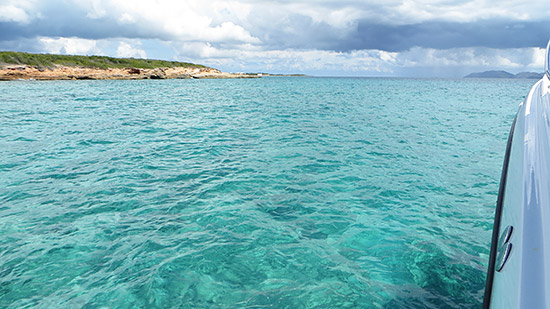 glassy seas in anguilla
