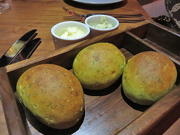 coba dill rolls at four seasons anguilla