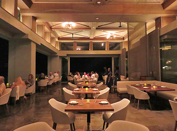 main dining room at coba four seasons