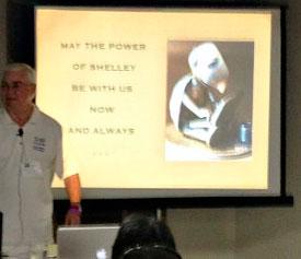 presentation in larger room