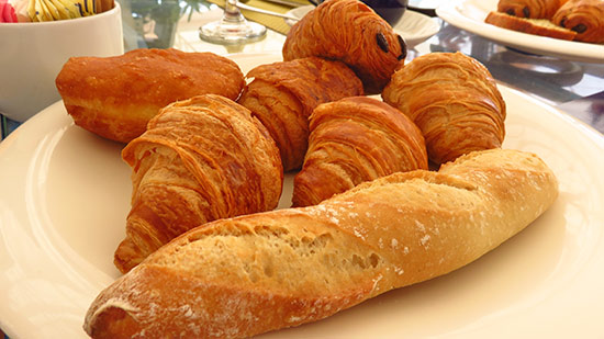 continental breakfast at cuisinart