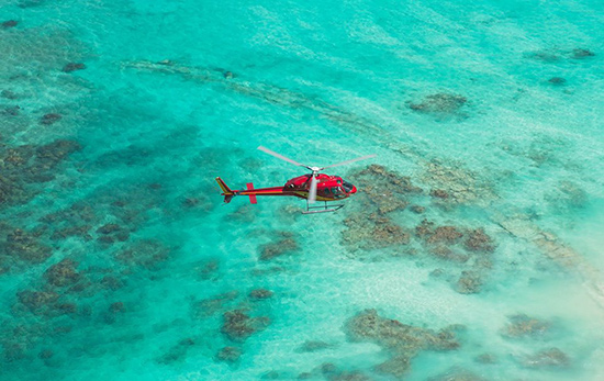 corail helicopter tour anguilla