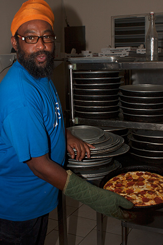 Corner Bar Pizza baker