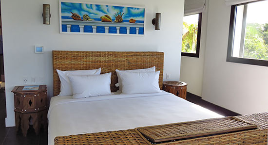 corner king room at zemi beach