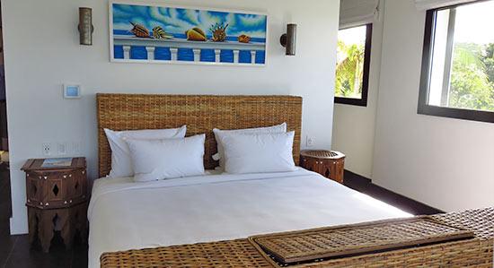 corner king room at zemi beach