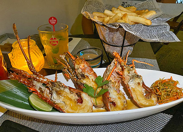 Wednesday Night Crayfish Special at IWASATTHEBAR