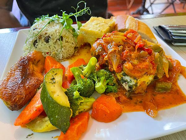 Mahi-Mahi in Creole Sauce at Top Carrot