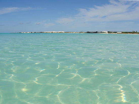 crystal clear waters in anguilla