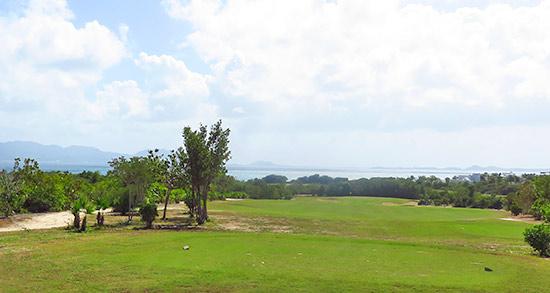 first hole at cuisinart golf club