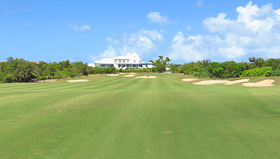 18th hole at cuisinart golf resort and spa