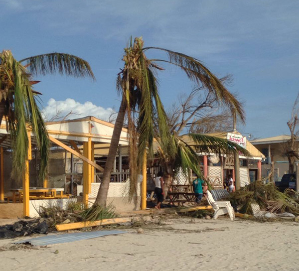 Hurricane Irma Updates on Blowing Point Anguilla Beaches