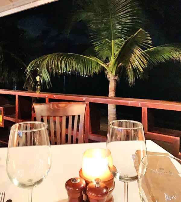 davida for dinner in anguilla