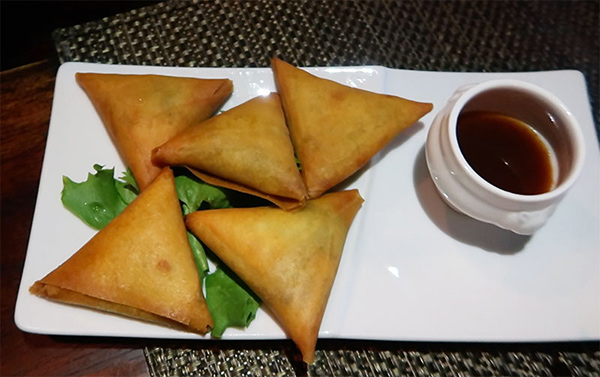 samosa at davida